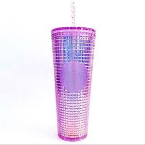 🆕 Starbucks Iridescent Pink Purple Tumbler Cup
